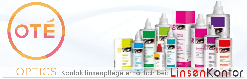 Oté Optics (Ote) - Das Pflegemittel Sortiment bei LinsenKontor.d
