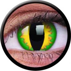 Farbige Kontaktlinsen Green Dragon