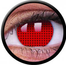 Farbige Kontaktlinsen Red Screen
