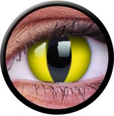 Farbige Kontaktlinsen mit Stärke Cat Eye