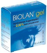 Biolan Gel Augentropfen 20x0,45ml