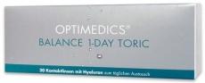 OPTIMEDICS Balance 1-Day Toric 30er Packung