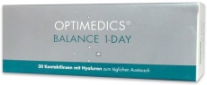 OPTIMEDICS Balance 1-Day Testlinse