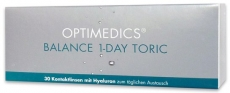OPTIMEDICS Balance 1-Day Toric Testlinse