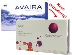 Avaira - enfilcon DK100 Aspheric 6er Packung