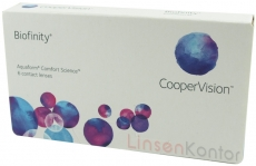Biofinity - Comfilcon A 6er Packung
