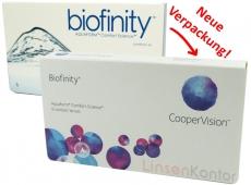 Biofinity - Comfilcon DK 128 3er Packung