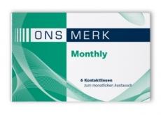 ONS MERK Monthly - Methafilcon A Testlinse