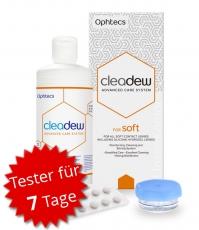Cleadew for soft 90ml + 7 Tabletten Tester