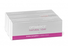OPTIMEDICS Natural 1-Day SiH - Unifilcon A 90er Packung