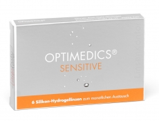 OPTIMEDICS Sensitive SiH - Innofilcon A Testlinse