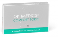 OPTIMEDICS Comfort Toric - Hioxifilcon A 6er Packung