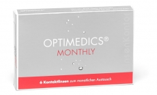 OPTIMEDICS Monthly - Methafilcon A 6er Packung
