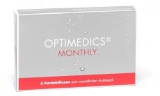 OPTIMEDICS Monthly - Methafilcon A Testlinse