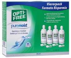 OPTI-FREE PureMoist Megapack - Viererpack 4x300ml