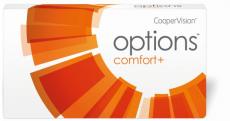 Options Comfort+ omafilcon B spheric 3er Packung