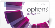 Options Evolve+ Toric - fanfilcon A 6er Packung