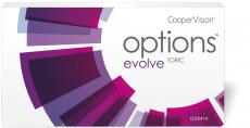 Options Evolve+ Toric - fanfilcon A 3er Packung