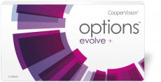 Options Evolve+ fanfilcon A 6er Packung
