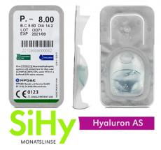 SiHy Hyaluron AS Testlinse