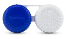 ECCO Case F - flacher Kontaktlinsenbehälter