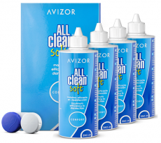 Avizor All Clean Soft Pack 4x 350ml