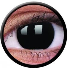 Farbige Kontaktlinse Blind Black