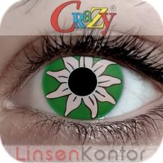 Farbige Kontaktlinsen Crazy Lenses Oktoberfest Edelweiss
