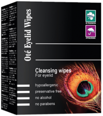 Oté Eyelid Wipes Reinigungstücher - 15 Stück mit Kamille