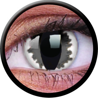 Farbige Kontaktlinsen Grey Dragon