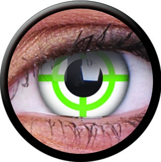 farbige kontaktlinsen green target. Black Bedroom Furniture Sets. Home Design Ideas