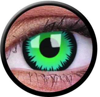 farbige kontaktlinsen mit st rke green werewolf. Black Bedroom Furniture Sets. Home Design Ideas