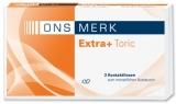 ONS MERK Extra+ Toric - omafilcon 3er Packung