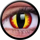 Farbige Kontaktlinsen mit Stärke Dragon Eyes