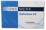 ONS MERK Definition 55 - Hioxifilcon A 6er Packung