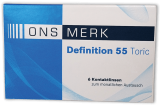 ONS MERK Definition 55 Toric - Hioxifilcon A 6er Packung
