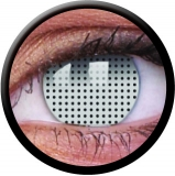 Farbige Kontaktlinsen White Screen