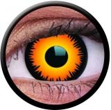 Farbige Kontaktlinsen Orange Werewolf