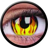 Farbige Kontaktlinsen Flame Hot