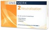 ONS MERK 2 Neutralisationstabletten 30 Stck