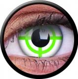 Farbige Kontaktlinsen Green Target