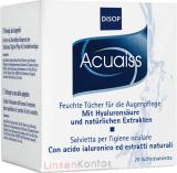 Acuaiss Augenpflege - 20 feuchte Tücher mit Hyaluron