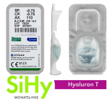 SiHy Hyaluron T - Toric Testlinse