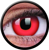 Farbige Kontaktlinsen mit Stärke Red Devil