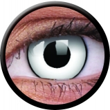 Farbige Kontaktlinsen mit Stärke White Zombie