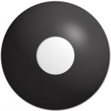 Farbige Kontaktlinsen mit Stärke Crazy Lenses Black Out