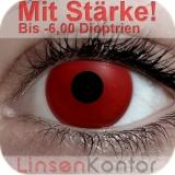 Farbige Kontaktlinsen mit Stärke Crazy Lenses Vampire