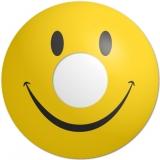 Farbige Kontaktlinsen mit Stärke Crazy Lenses Smiley