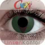 Farbige Kontaktlinsen mit Stärke Crazy Lenses Reptile