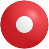 Farbige Kontaktlinsen mit Stärke Crazy Lenses Hot Red